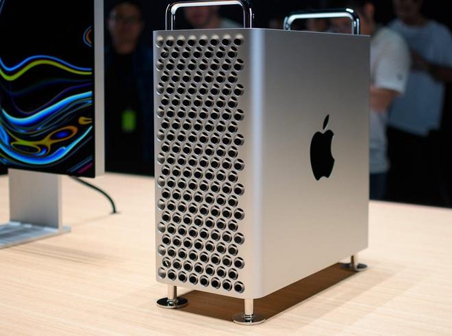 Apple ra mắt Mac Pro: Phiên bản mạnh nhất có giá bán 1,2 tỷ đồng, riêng bộ phụ kiện bánh xe bán kèm đã có giá 2,3 triệu đồng/chiếc! - Ảnh 1.