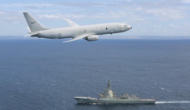 Sự thực vụ tàu ngầm Nga bị máy bay P-8A Poseidon Mỹ truy sát ngoài khơi Syria - ảnh 11