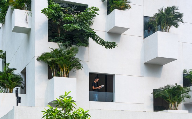 """""""Ngôi nhà trên mây"""" tại Sài Gòn trông như thế nào?"""