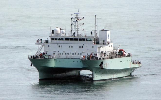 """Tàu khảo sát """"lởn vởn"""" bị Ấn Độ đuổi thẳng, Trung Quốc ra lệnh tàu bè tuân thủ chặt UNCLOS"""