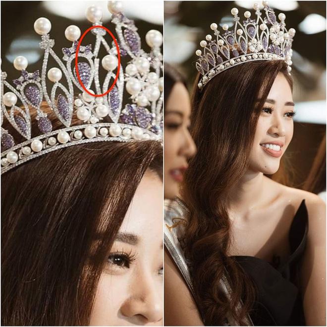 Vương miện hơn 2000 nghìn viên đá quý bị gãy sau 4 ngày Hoa hậu Hoàn vũ Việt Nam đăng quang? - Ảnh 2.