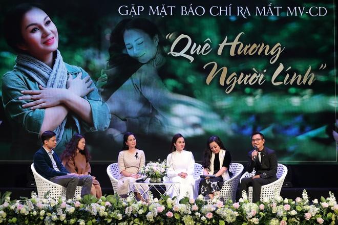 Lần hiếm hoi NSND Lan Hương chịu đóng MV ca nhạc - Ảnh 1.