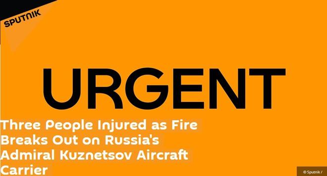 NÓNG: Tàu sân bay Kuznetsov Nga bốc cháy dữ dội - Sơ tán khẩn cấp, số thương vong tăng nhanh - Ảnh 7.