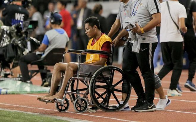 Đã có kết luận về chấn thương của sao Indonesia phải ngồi xe lăn: Nhẹ đến bất ngờ, ai còn nói Văn Hậu hủy hoại sự nghiệp đối phương nữa?