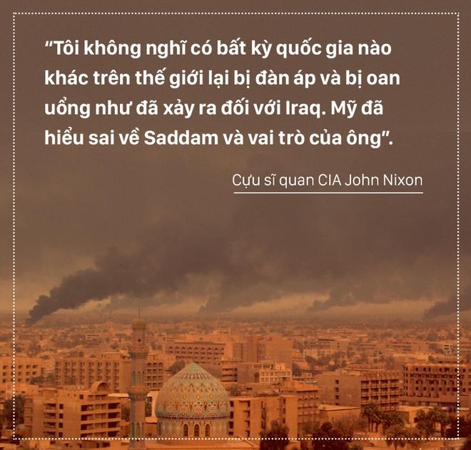 Người thẩm vấn Saddam Hussein tiết lộ những tình tiết bi thảm của vụ lừa dối lớn nhất lịch sử hiện đại - Ảnh 3.