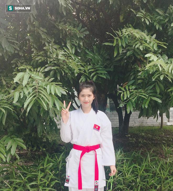 Hot girl Karate Việt Nam tham dự SEA Games 30: Mới gặp không ai nghĩ là một võ sĩ - Ảnh 4.