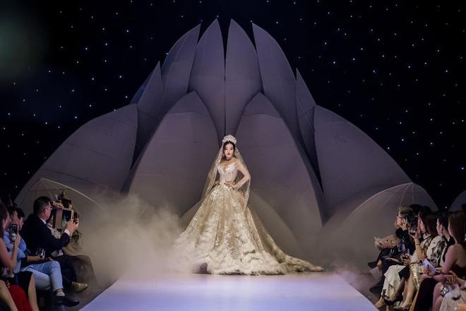 Á Hậu Huyền My lo lắng vì mặc váy cô dâu quá nhiều lần - ảnh 10