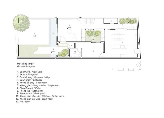 Độc đáo ngôi nhà với 3 mảnh sân tại Hà Nội trên báo Mỹ - Ảnh 19.