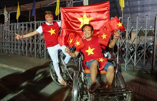 Vũ Hà bóc mẽ Đàm Vĩnh Hưng sau khi đi bão ăn mừng chiến thắng của U22 Việt Nam - Ảnh 1.