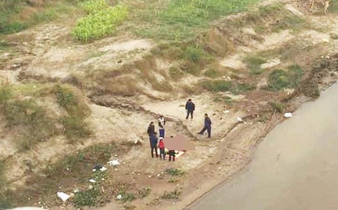 Xác định danh tính thi thể 2 bố con trên sông Hồng, đoạn qua cầu Ngọc Tháp