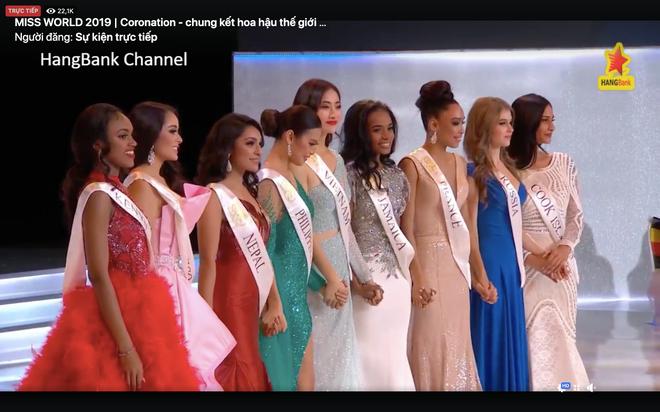 Lương Thùy Linh trượt top 5 gây tiếc nuối, Jamaica đăng quang Hoa hậu Thế giới 2019 - Ảnh 3.