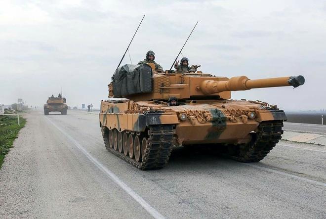 Chán nản xe tăng Đức, Thổ Nhĩ Kỳ tuồn Leopard 2 cho phiến quân đánh Quân đội Syria? - Ảnh 1.