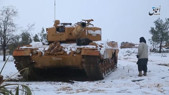 Chán nản xe tăng Đức, Thổ Nhĩ Kỳ tuồn Leopard 2 cho phiến quân đánh Quân đội Syria? - Ảnh 2.