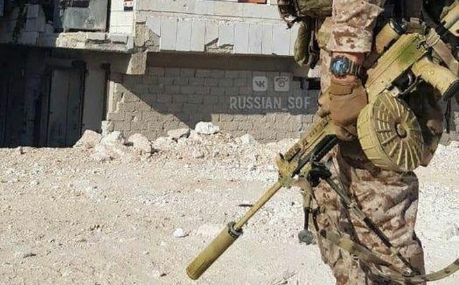 """Xuất hiện loại súng """"cực độc"""" của Nga ở Syria: Tuyệt hảo đến không ngờ"""