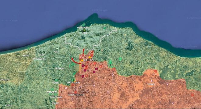 Thủ đô Tripoli của Libya nguy ngập, bị tấn công từ 2 hướng - Pháo Lốc xoáy của Syria xung trận, phiến quân khiếp đảm - Ảnh 16.