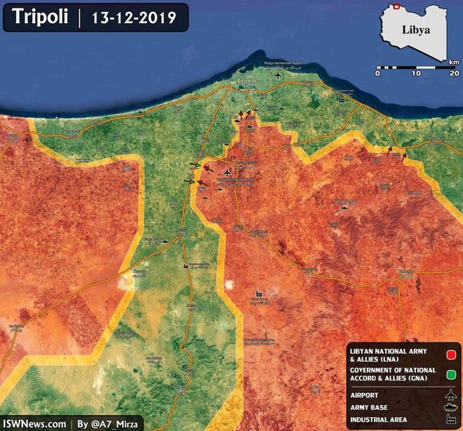 Thủ đô Tripoli của Libya nguy ngập, bị tấn công từ 2 hướng - Pháo Lốc xoáy của Syria xung trận, phiến quân khiếp đảm - Ảnh 7.