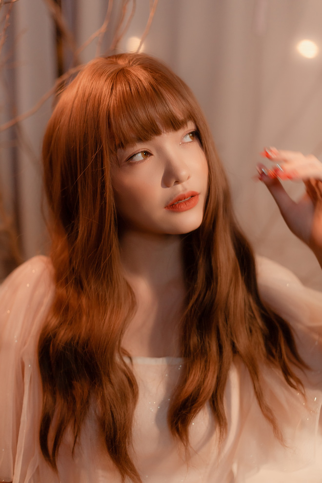 Hồng Kim Hạnh xinh như nàng công chúa trong MV mashup sắp phát hành - Ảnh 7.