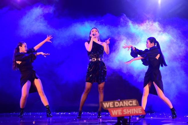 Minh Hằng, Trọng Hiếu nhảy sung trên sân khấu đêm chung kết Kpop Dance For Youth - Ảnh 5.
