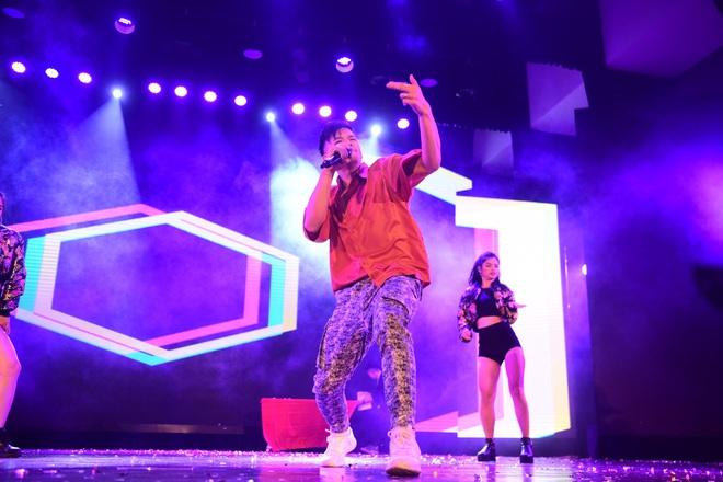 Minh Hằng, Trọng Hiếu nhảy sung trên sân khấu đêm chung kết Kpop Dance For Youth - Ảnh 7.