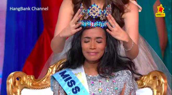 Lương Thùy Linh trượt top 5 gây tiếc nuối, Jamaica đăng quang Hoa hậu Thế giới 2019 - Ảnh 2.