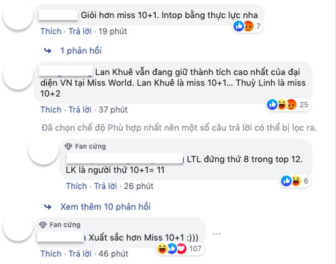 Tạo nên thành tích chưa từng có tại Miss World, Lương Thùy Linh lại bị so sánh với Lan Khuê và Đỗ Mỹ Linh - ảnh 3