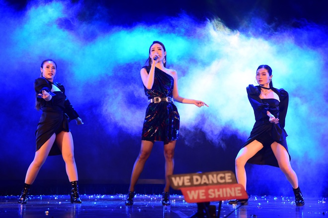 Minh Hằng, Trọng Hiếu nhảy sung trên sân khấu đêm chung kết Kpop Dance For Youth - Ảnh 6.
