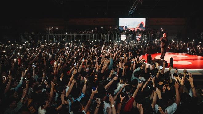 Loạt hit đình đám khuấy động không khí trong Beck'Stage Unexpected Rap Fest - Ảnh 1.