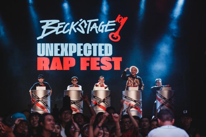 Loạt hit đình đám khuấy động không khí trong Beck'Stage Unexpected Rap Fest - Ảnh 10.