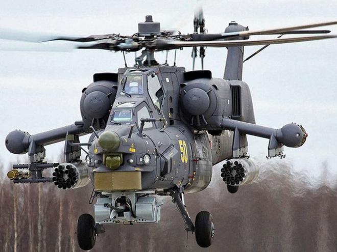 Nga công bố hình ảnh trực thăng Mi-28UB rơi trong khi bay huấn luyện - Ảnh 2.