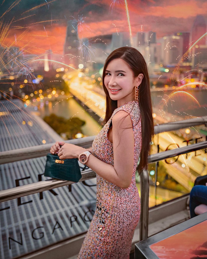 """Con gái của """"bà hoàng Hermes Jamie Chua: Tí tuổi đã mặc đồ hàng hiệu khắp người, mạnh dạn đầu tư kinh doanh thương hiệu phụ kiện riêng - Ảnh 1."""