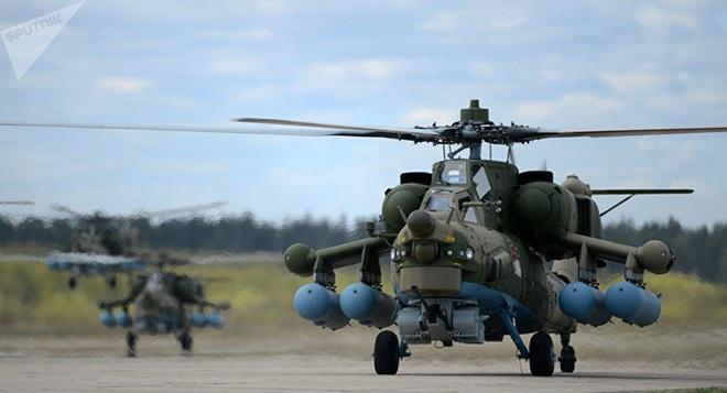 Nga công bố hình ảnh trực thăng Mi-28UB rơi trong khi bay huấn luyện - Ảnh 5.