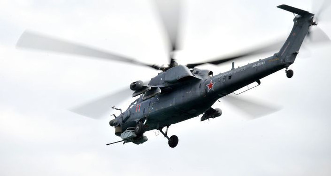 Nga công bố hình ảnh trực thăng Mi-28UB rơi trong khi bay huấn luyện - Ảnh 7.