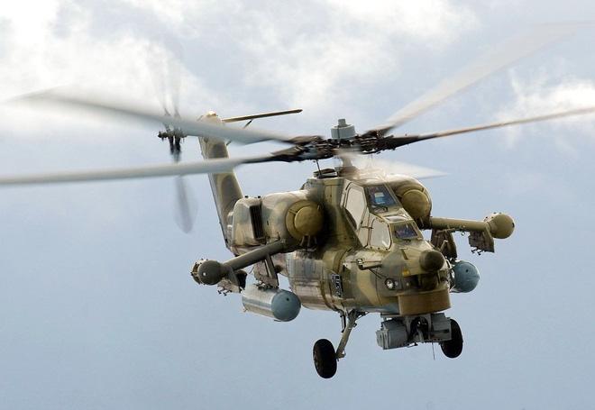 Nga công bố hình ảnh trực thăng Mi-28UB rơi trong khi bay huấn luyện - Ảnh 8.