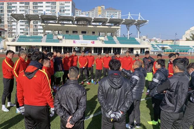 Quang Hải, Đình Trọng báo tin vui, U23 Việt Nam rèn quân với lịch trình mới tại Hàn Quốc - Ảnh 1.