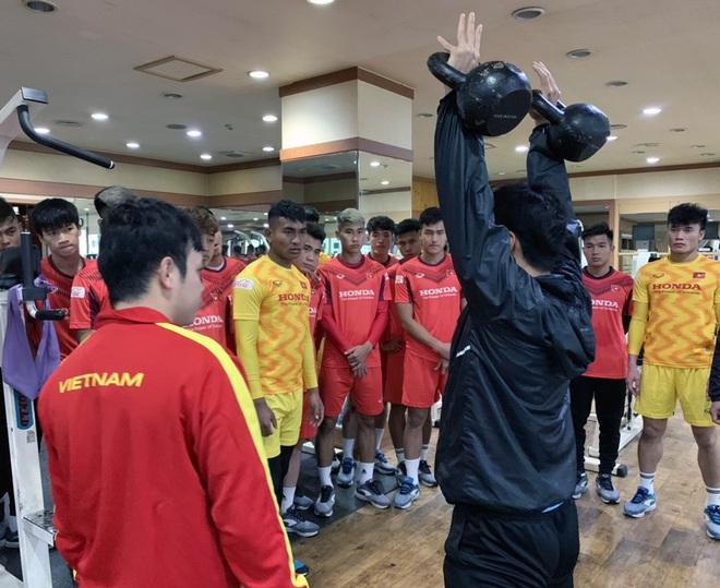 Quang Hải, Đình Trọng báo tin vui, U23 Việt Nam rèn quân với lịch trình mới tại Hàn Quốc - Ảnh 2.
