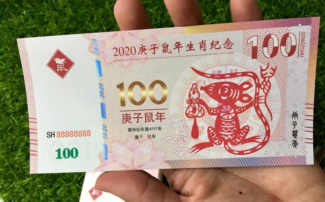 """Sính hàng ngoại lì xì Tết, tiền in hình chuột Canh Tý bay về Việt Nam """"đắt như tôm tươi"""""""