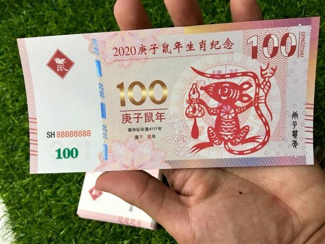 Sính hàng ngoại lì xì Tết, tiền in hình chuột Canh Tý bay về Việt Nam đắt như tôm tươi - Ảnh 2.