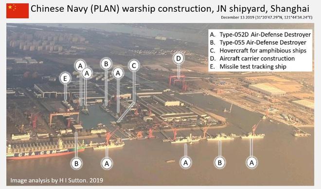 Lộ diện xưởng đóng tàu chiến siêu khủng của HQ Trung Quốc: Một bức ảnh nói lên tất cả - Ảnh 1.