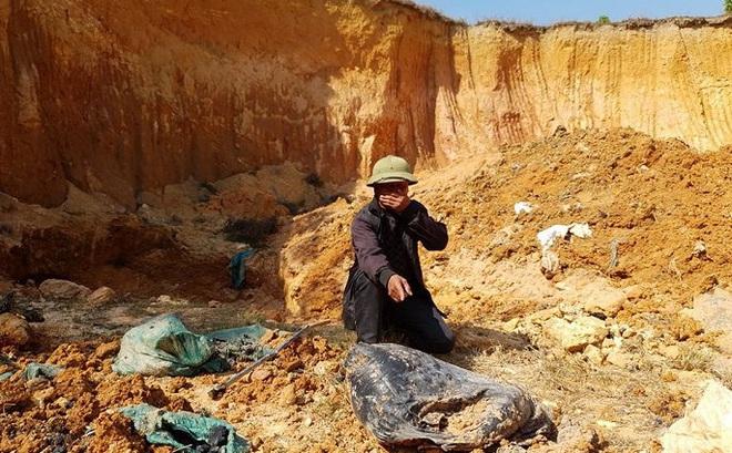Giám đốc Hợp tác xã chôn trộm chất thải nguy hại ở Sóc Sơn khai gì?