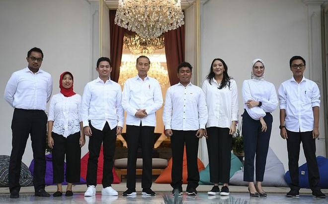 """Tổng thống Indonesia chọn nhiều cố vấn 8-9X với lương """"khủng"""""""
