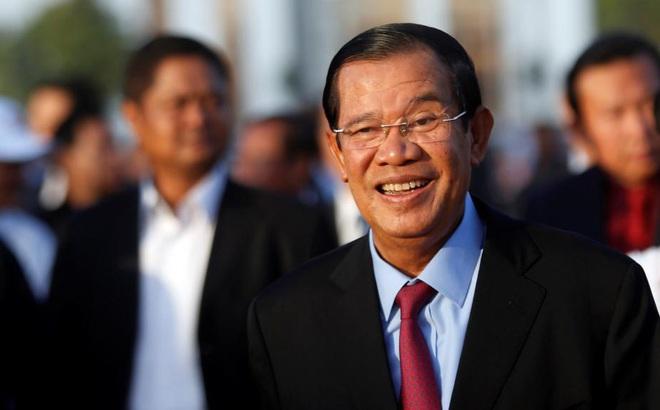"""""""Hoàn toàn không có chuyện xâm lấn"""": Ông Hun Sen nói về cuộc diễn tập của quân đội ở biên giới Campuchia-VN"""