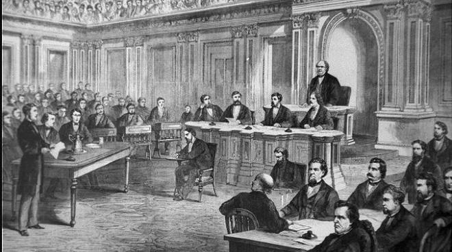 Phiên tòa luận tội Tổng thống Mỹ tại Thượng viện diễn ra thế nào? - Ảnh 2.