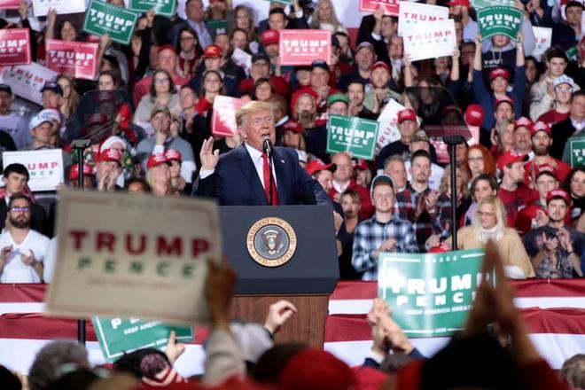Lưu danh sử sách sau đòn đánh chấn động của Đảng Dân chủ: Ông Trump đã thua? - Ảnh 2.