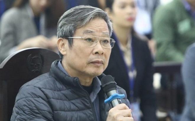 """Cựu Bộ trưởng Nguyễn Bắc Son: """"Tới đây, có thể bị cáo phải trả giá bằng cả sinh mạng của mình"""""""