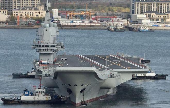 Tàu sân bay thứ hai của Trung Quốc Sơn Đông chỉ là 'hổ giấy' trên biển? - Ảnh 1.