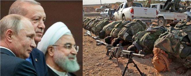 Đại kết cục của chiến tranh Syria: Nga chiếu bí, Thổ lật mặt, QĐ Syria đại công cáo thành? - ảnh 1