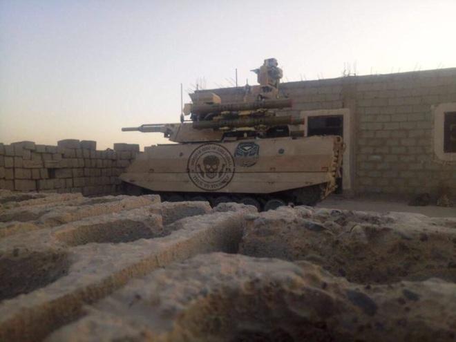 Robot Uran-9 Nga chính thức thực chiến ở Syria: Bước ngoặt mới - Ảnh 1.