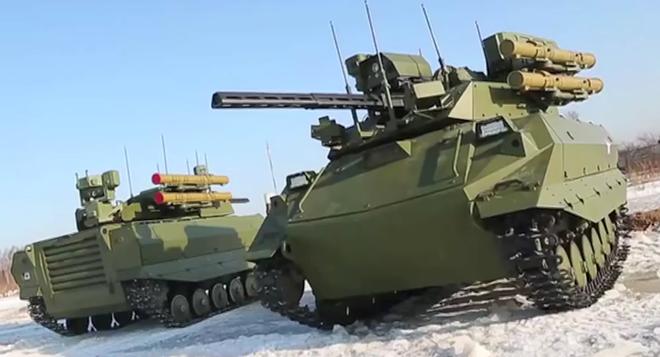 Robot Uran-9 Nga chính thức thực chiến ở Syria: Bước ngoặt mới - Ảnh 3.