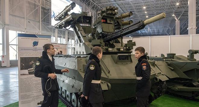 Robot Uran-9 Nga chính thức thực chiến ở Syria: Bước ngoặt mới - Ảnh 4.