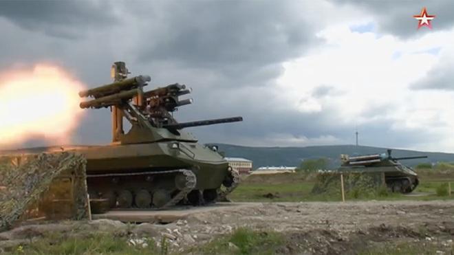Robot Uran-9 Nga chính thức thực chiến ở Syria: Bước ngoặt mới - Ảnh 7.